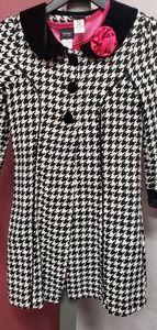 2pc coat and dress set (Size 10/12)
